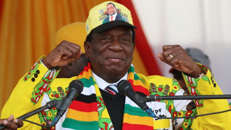 Emmerson Mnangagwa Declared Winner of Historic Zimbabwe Election