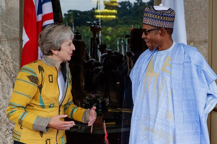 Buhari-Theresa May
