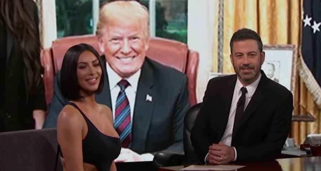 Kim Kardashian- Jimmy Kimmel