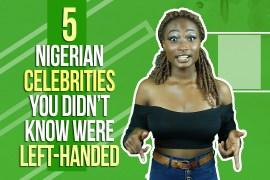 Left-handed celebrities