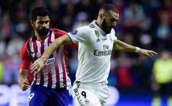 Real Madrid vs Atletico Madrid UEFA Super Cup