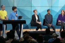 Google Execs at All Hands Meeting