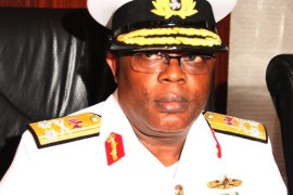 Navy Chief, Vice Admiral Ibok Ete Ekwe Ibas