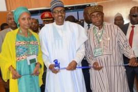 Hadiza Bala-Usman, Buhari and Amaechi