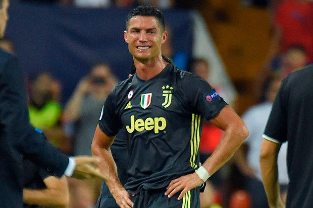 Ronaldo in tears
