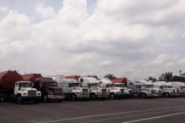 trucks of adulterated diesel, kerosene