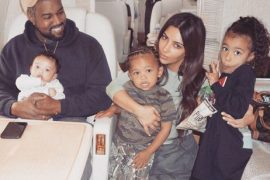 Kim Kardashian, Kanye West and kids