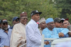 Saraki and other PDP leaders