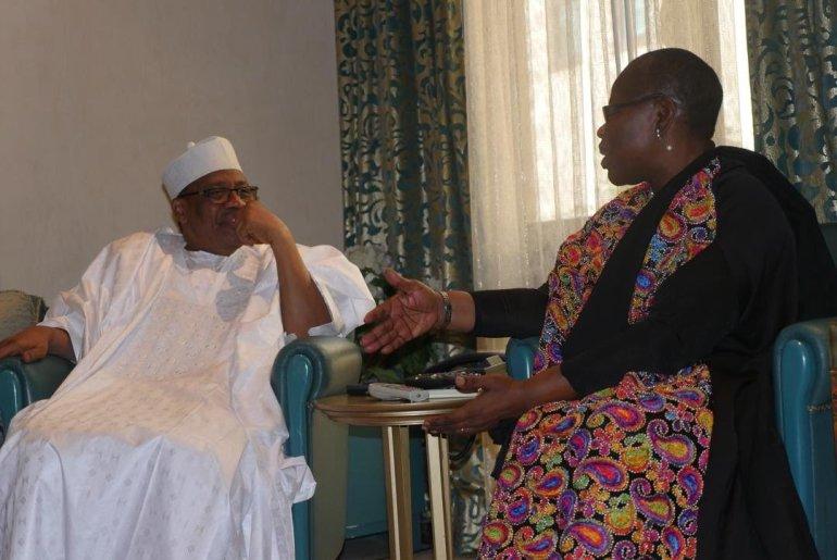 Babangida and Ezekwesili in secret meeting