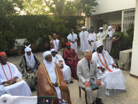 Prince Charles and the traditional rulers