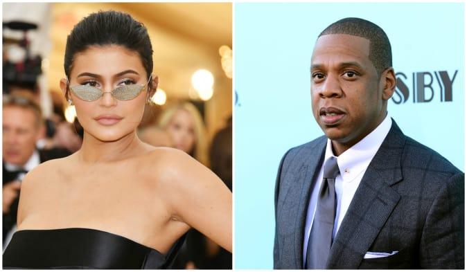 Kylie Jenner and Jay Z