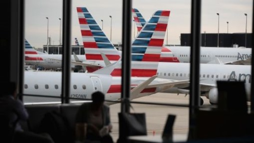 Snowstorm causes flights cancellation in O'Hare International Airport, Chicago