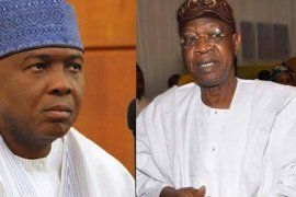 Saraki and Lai Mohammed