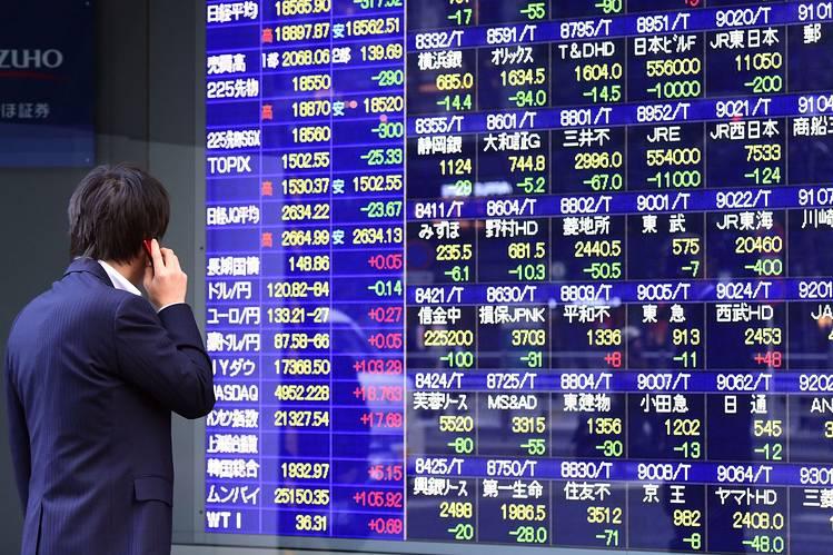 Asian shares, stock