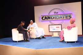 Buhari and Osinbajo at The Candidates
