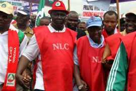NLC labour leaders minimum wage