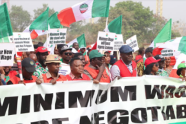 NLC minimum wage rally