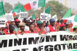 NLC minimum wage rally