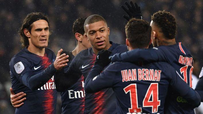 PSG humiliate Guingamp in a 9 goal Thriller