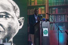 Babatunde Raji Fashola at BRFGABFEST2 in Lagos on Thurs, Feb. 21, 2019 (NAN)