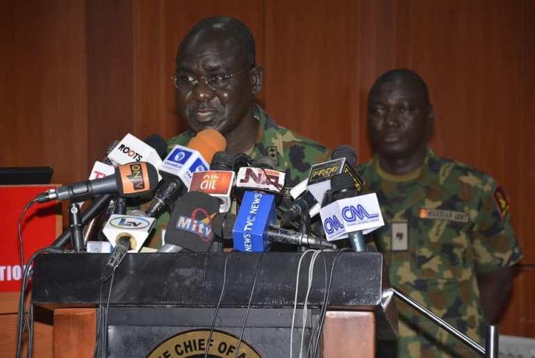 Chief of Army Staff, Lt.-Gen. Tukur Buratai