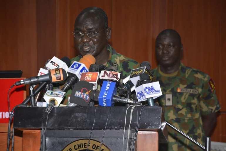 Chief of Army Staff, Lt.-Gen. Tukur Buratai