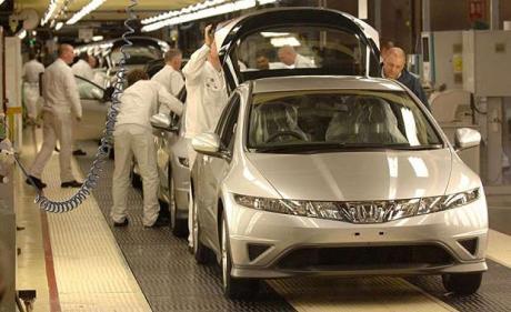 Honda Swindon plant