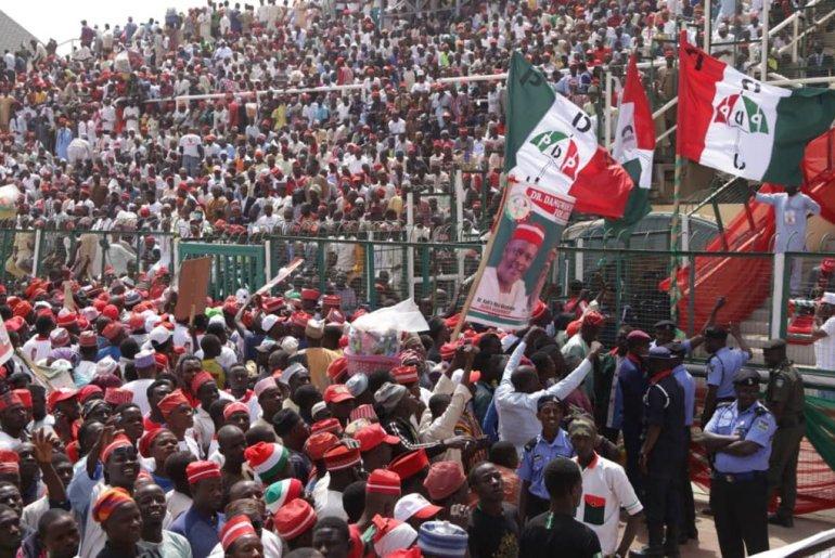 Kano PDP rally