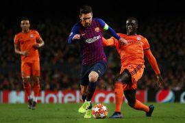Barcelona vs Olympique Lyonnais - UEFA Champions League