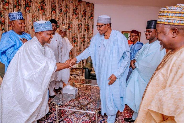 Buhari and governors 2
