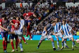 atletico madrid vs real sociedad - la liga