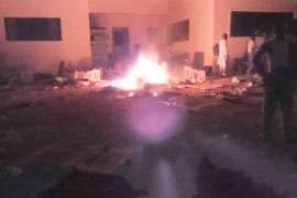 Some political thugs have set fire on all electoral materials, including ballot boxes and card readers on fire, at Mbalom ward inGwer east local government area of Benue state.