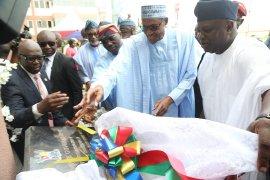 Buhari commissions Ayinke House