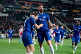 Chelsea vs Slavia - Europa League