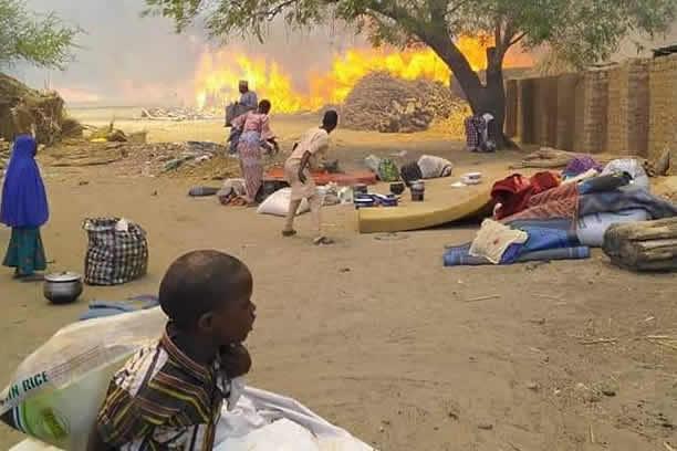Fire-outbreak-at-Borno-IDPs-camp