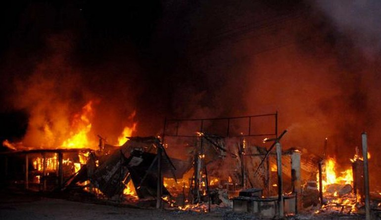 Kano fire incident