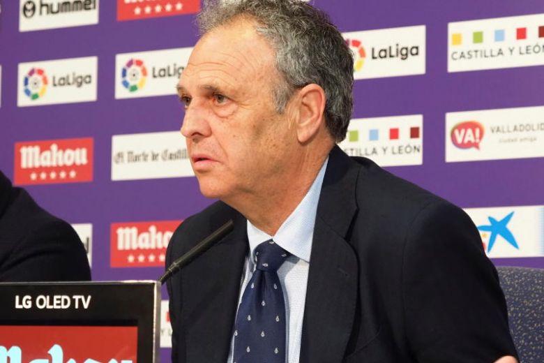 Sevilla's coach, Caparros