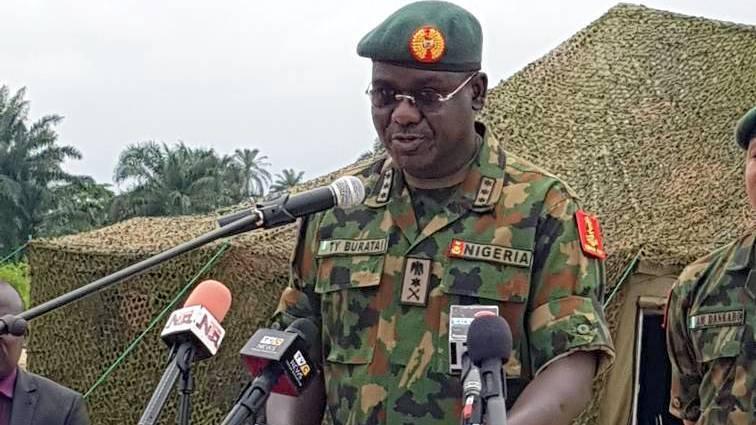 Nigerian Army Chief, Lt.-Gen. Tukur Buratai