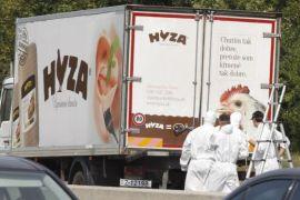 migrants truck