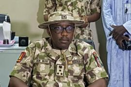 Major General Abdulmalik Biu, GOC 7 Division