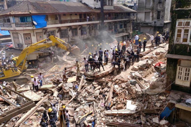 building collapse mumbai