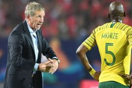 South Africa's coach baxter