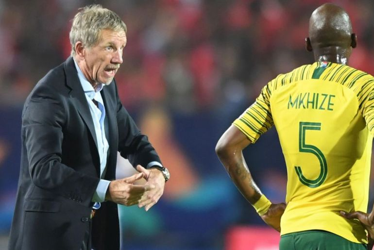 South Africa's coach baxter