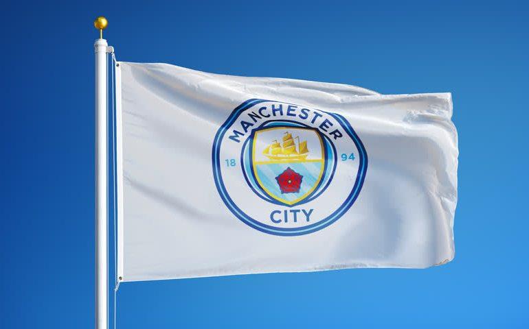 Man City FC Flag