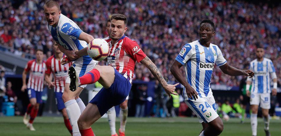 Atletico Madrid vs CD Leganes La Liga