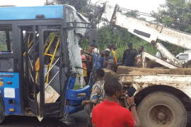 BRT - Dangote Truck accident