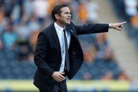 Chelsea coach, Frank Lampard