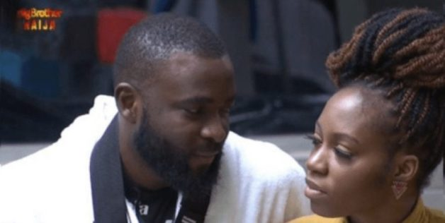 BBNaija: Stunned Esther looks on as Khafi and Gedoni have sex again (video)