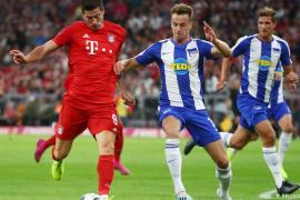Lewandowski, Bayern Munich vs Hertha Berlin