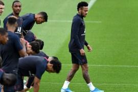 Neymar at PSG